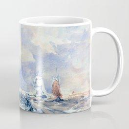 Dieppe Pier, Stiff Breeze - Digital Remastered Edition Coffee Mug