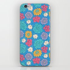 RocoFloral (blueberry) iPhone & iPod Skin