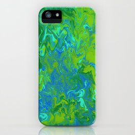 Paint Pouring 36 iPhone Case