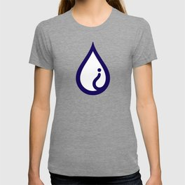 The Pure Bluff Drop Icon (Blue) — APPAREL T-shirt