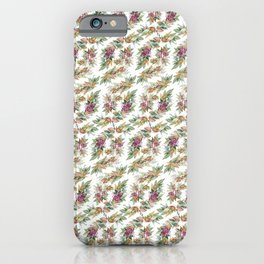Thanksgiving Watercolor iPhone Case