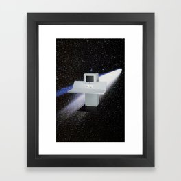 Untitled (Computer in Space) Framed Art Print