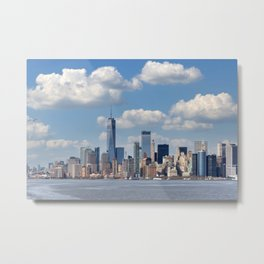 Manhattan New York City Big Apple Metal Print