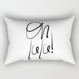 Oh la la Rectangular Pillow