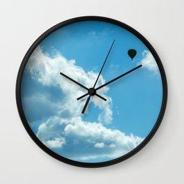 Soaring high. Wall Clock