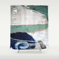 surf Shower Curtains featuring Surf by Bella Blue Photography