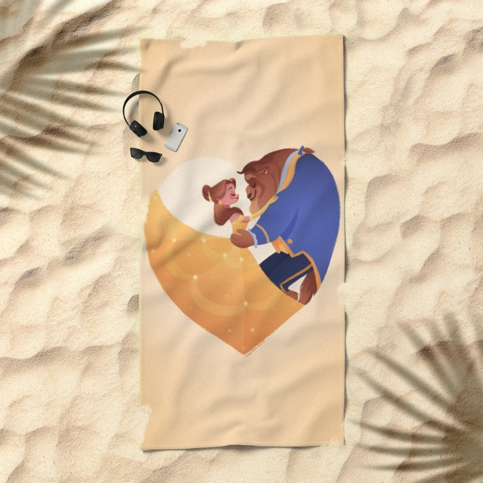 Certain as the sun Beach Towel