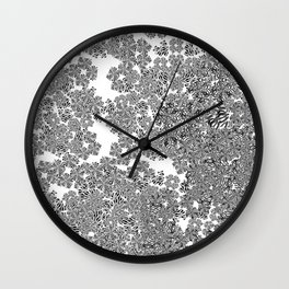 Expansion (White) Wall Clock