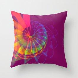 Exhilarating Color Throw Pillow