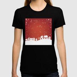 christmas landscape T-shirt