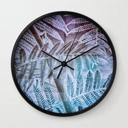 Fern Forest Wall Clock