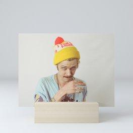 Travis Carolina Portrait Mini Art Print