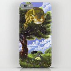 Totoro and Catbus Slim Case iPhone 6 Plus