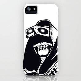 Eyes of the reaper iPhone Case