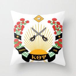 Kappa Emblem Design Throw Pillow