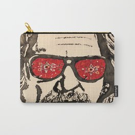 """The Dude Abides"" featuring The Big Lebowski Carry-All Pouch"