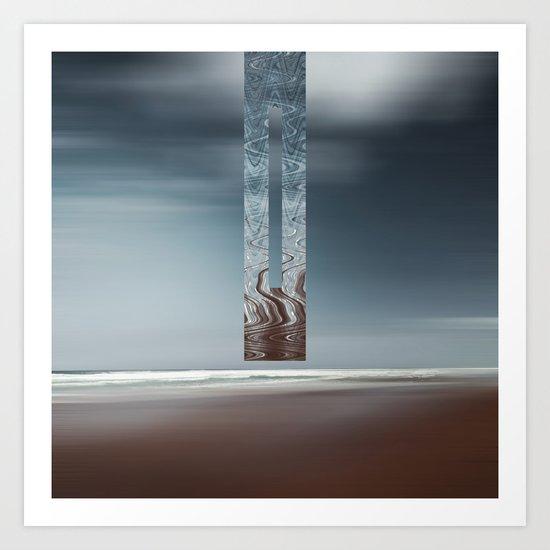 Minimal SeaScape Art Print