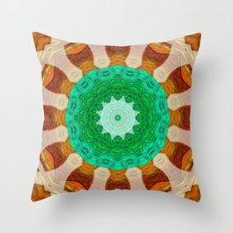 Betamix Mandala 11 Throw Pillow