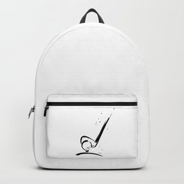 Golf Club by Kathy Morton Stanion Backpack