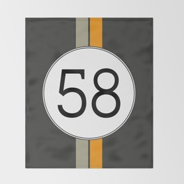 Rally 58 Throw Blanket