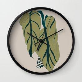 Plant love Wall Clock
