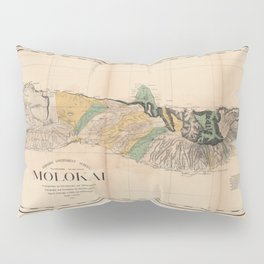 Molokai, Hawaii 1897 Pillow Sham