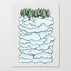 Treeclouds Canvas Print