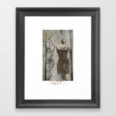 Haute Couture / fashion, dresses, clothing,  Framed Art Print