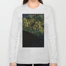Landscape rocky mountain with lake Long Sleeve T-shirt