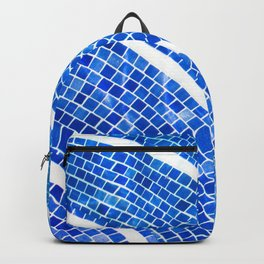 Swimming pool line Backpack