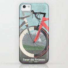 Tour De France Bicycle iPhone 5c Slim Case