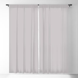 Mindful Moment ~ Light Lilac-gray Blackout Curtain