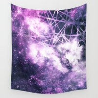 madoka magica Wall Tapestries featuring ε Purple Aquarii by Nireth
