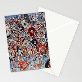 The rise of the planets Stationery Cards