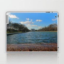 Reflecting Pool at the Lincoln Memorial Laptop & iPad Skin