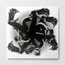 Claws Attack  Metal Print