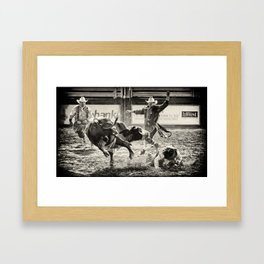 There Have To Be Clowns Framed Art Print