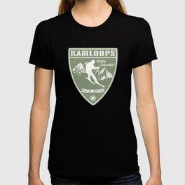 Ski Kamloops British Columbia T-shirt