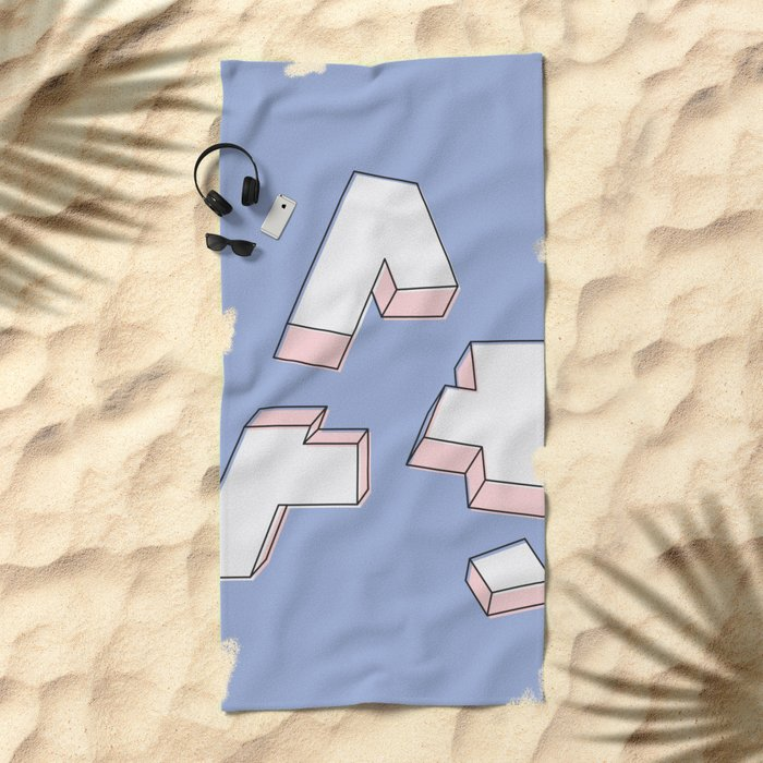 Deconstructed A Beach Towel