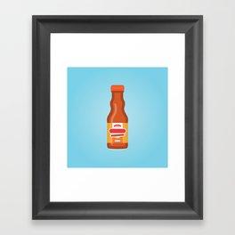 Frank's Buffalo Wing Sauce Framed Art Print