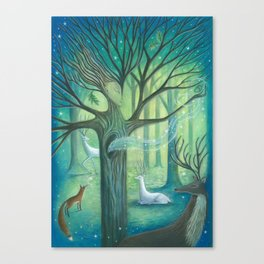 Advice From A Tree Canvas Print