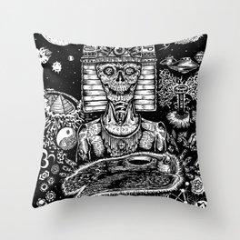 Awakening in Union Throw Pillow