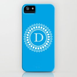 The Circle of D iPhone Case