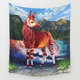 A Ravenous Fortification Wall Tapestry