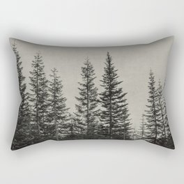 the edge of the forest Rectangular Pillow