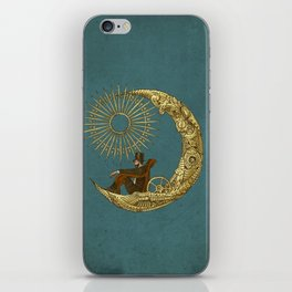 Moon Travel iPhone Skin
