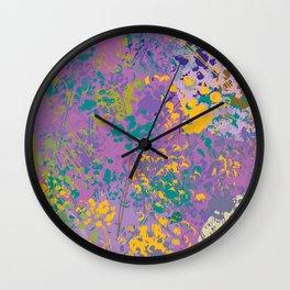 meadow 2 Wall Clock