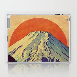 The Red Sunrise at Dayai Shore Laptop & iPad Skin