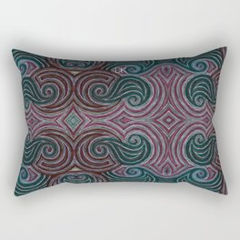 Wave Origins Rectangular Pillow
