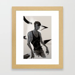 Subspace I Framed Art Print